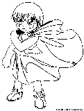 zatch bell coloring pages | Zelda Link Coloring Page