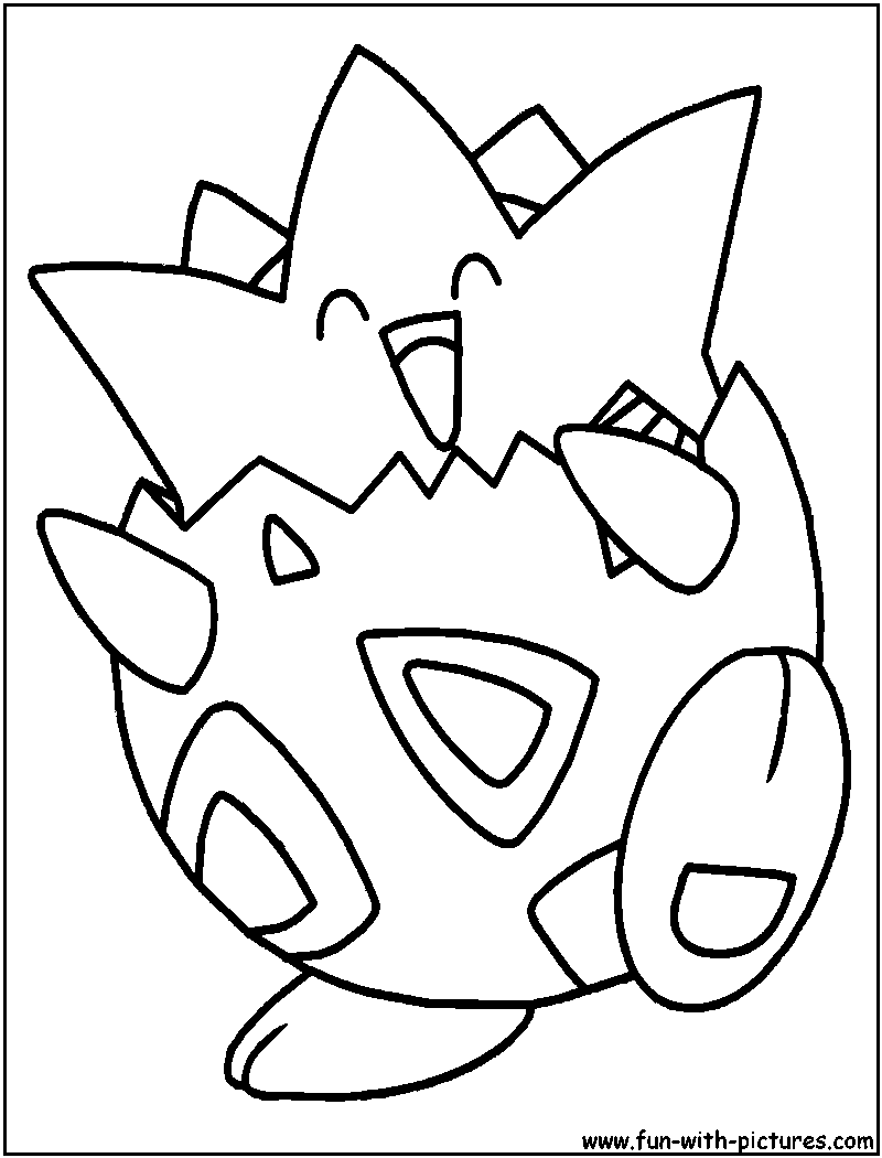 togepi coloring pages - photo#3