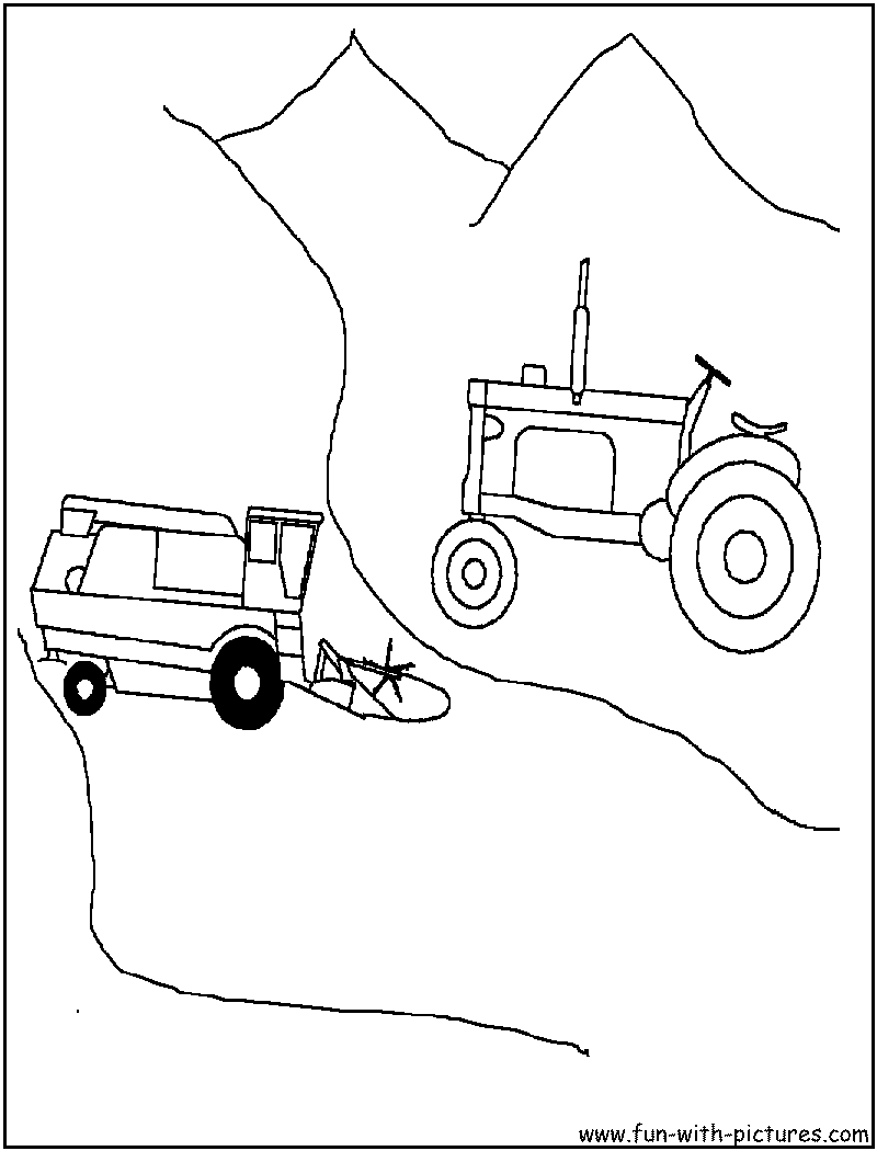 tractor tom coloring pages - photo#14