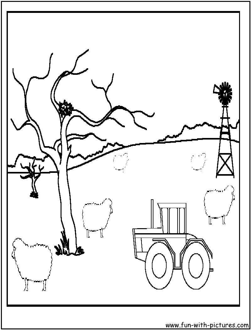 Tractor Coloring Pages - Free Printable Colouring Pages for kids to ...