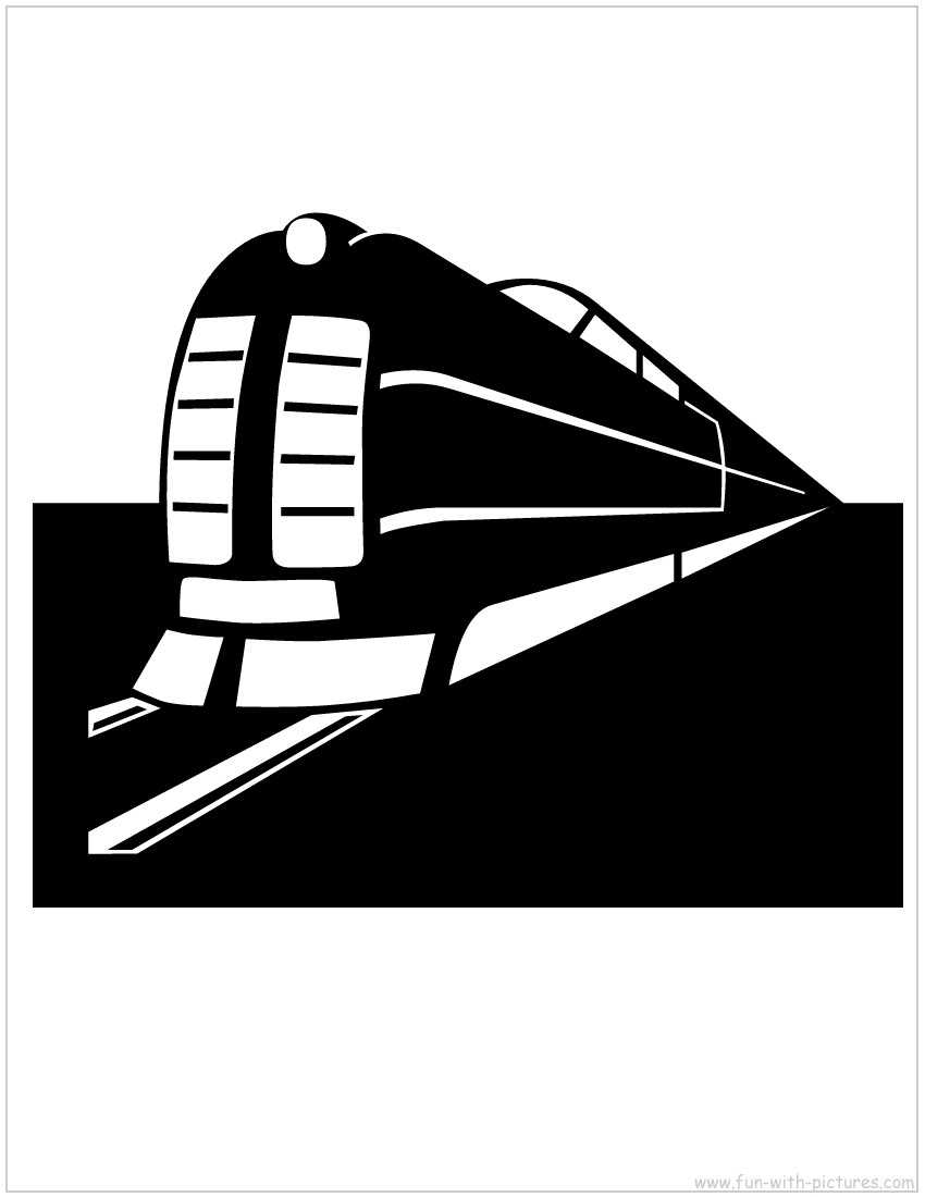 Cardboard Train Template Printable Cardboard Train