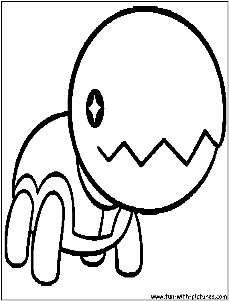 Coloring Page Rh Fun With Pictures Com Eevee Pages Jirachi