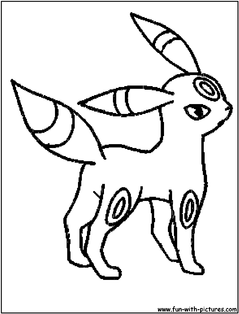 coloring pages umbreon coloring pages mycoloring free printable