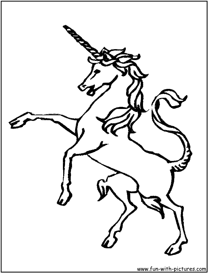 Detailed unicorn coloring pages sketch coloring page for Detailed unicorn coloring pages