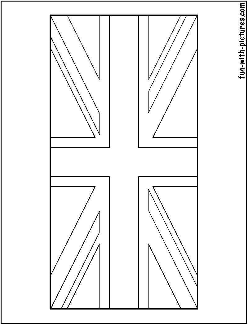 United Kingdom Flag Free Coloring Pages Uk Flag Coloring Page