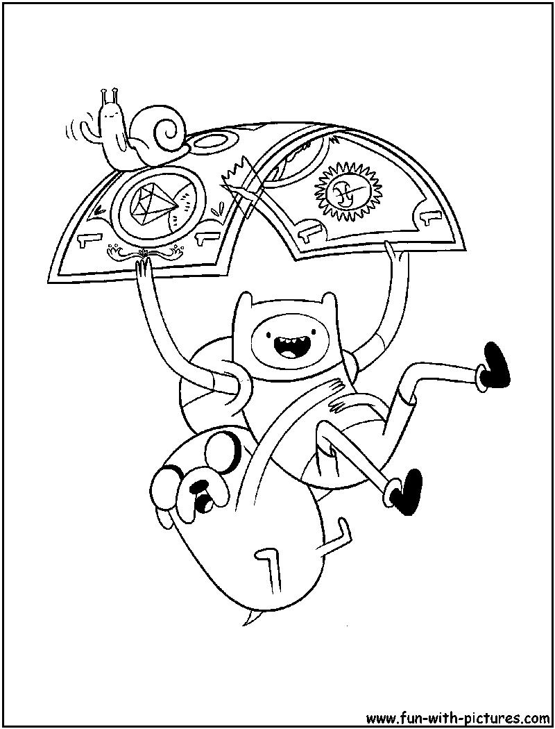 Adventuretime Coloring Page