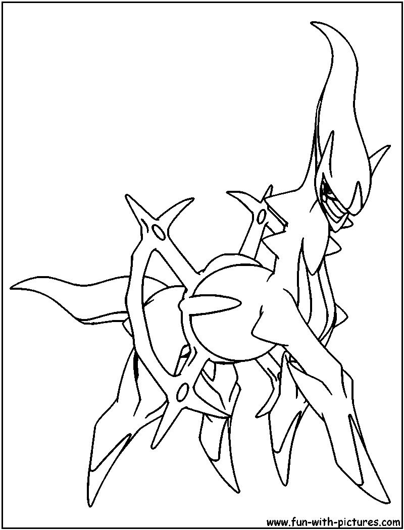 pokemon arceus kleurplaten yu gi oh ausmalbilder