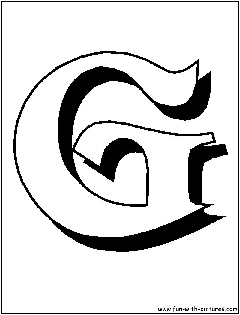 block lettering template Targer golden dragon
