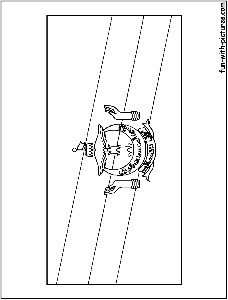 Asian Flags Coloring Pages Free Printable Colouring