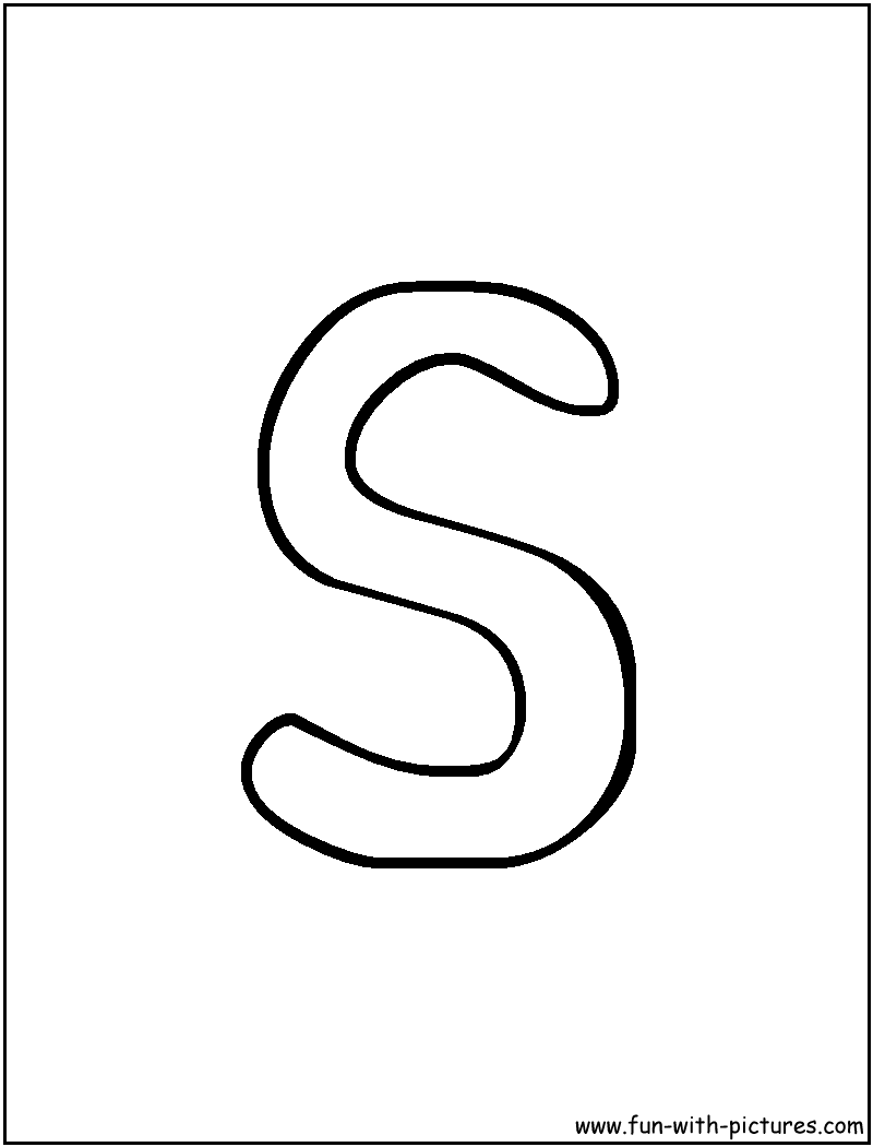 s bubble letter s letter levelings 10991 | bubble letter s