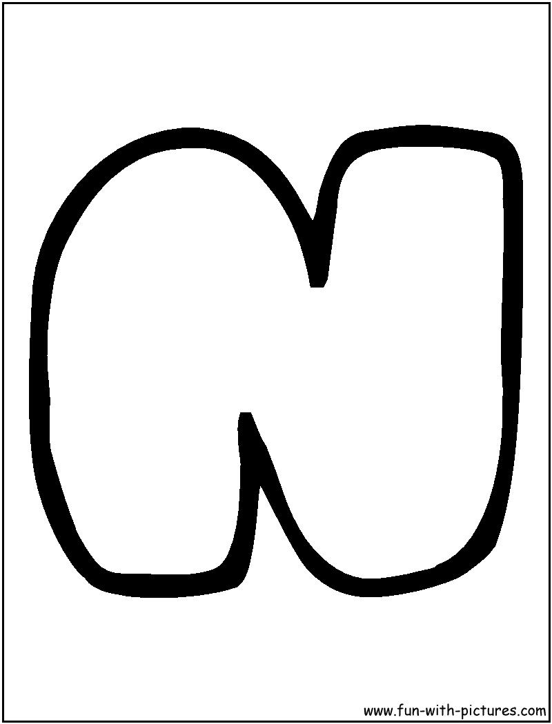 capital n bubble letter - Mersn.proforum.co