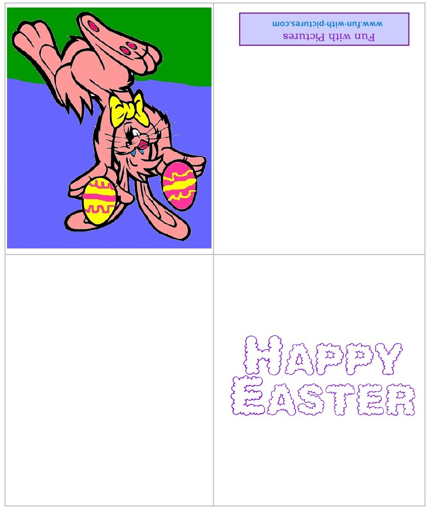 Printable Easter Cards And Free Easter Greeting Cards From Fun With