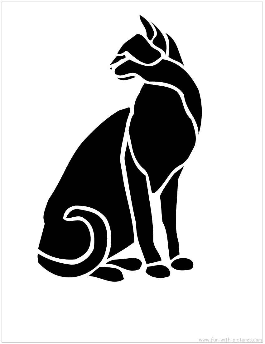 picture relating to Printable Animal Stencils referred to as Animal Stencils - Absolutely free Printables and Things to do for small children