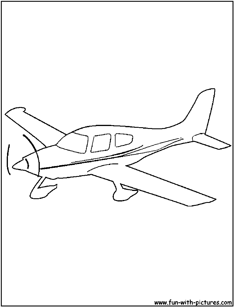 PLANE coloring pages - Coloring pages - Printable Coloring Pages ... | 1050x800
