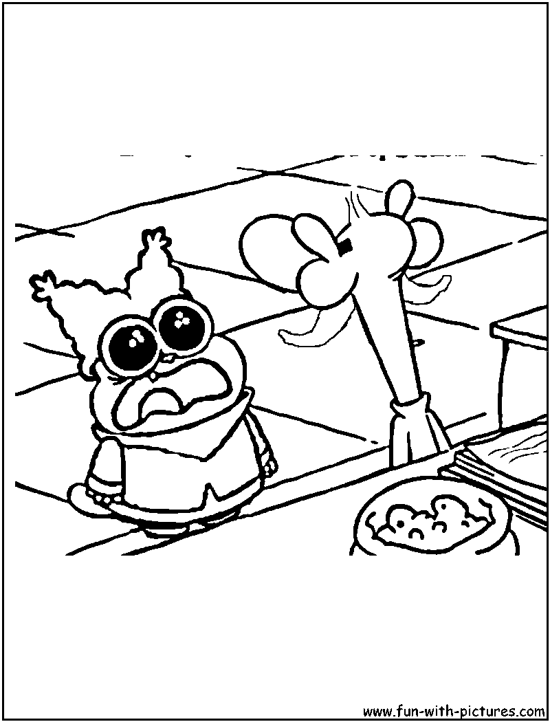 flapjack and chowder coloring pages - photo#42