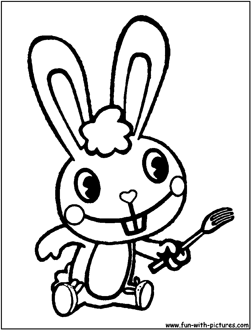 happy tree friends coloring pages - photo#3