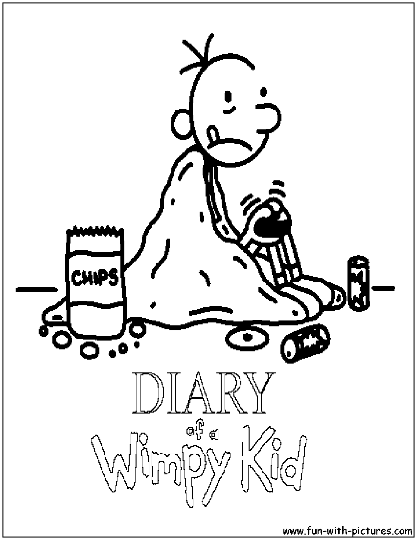 Printable Wimpy Kid Coloring Pages | Coloring Pages