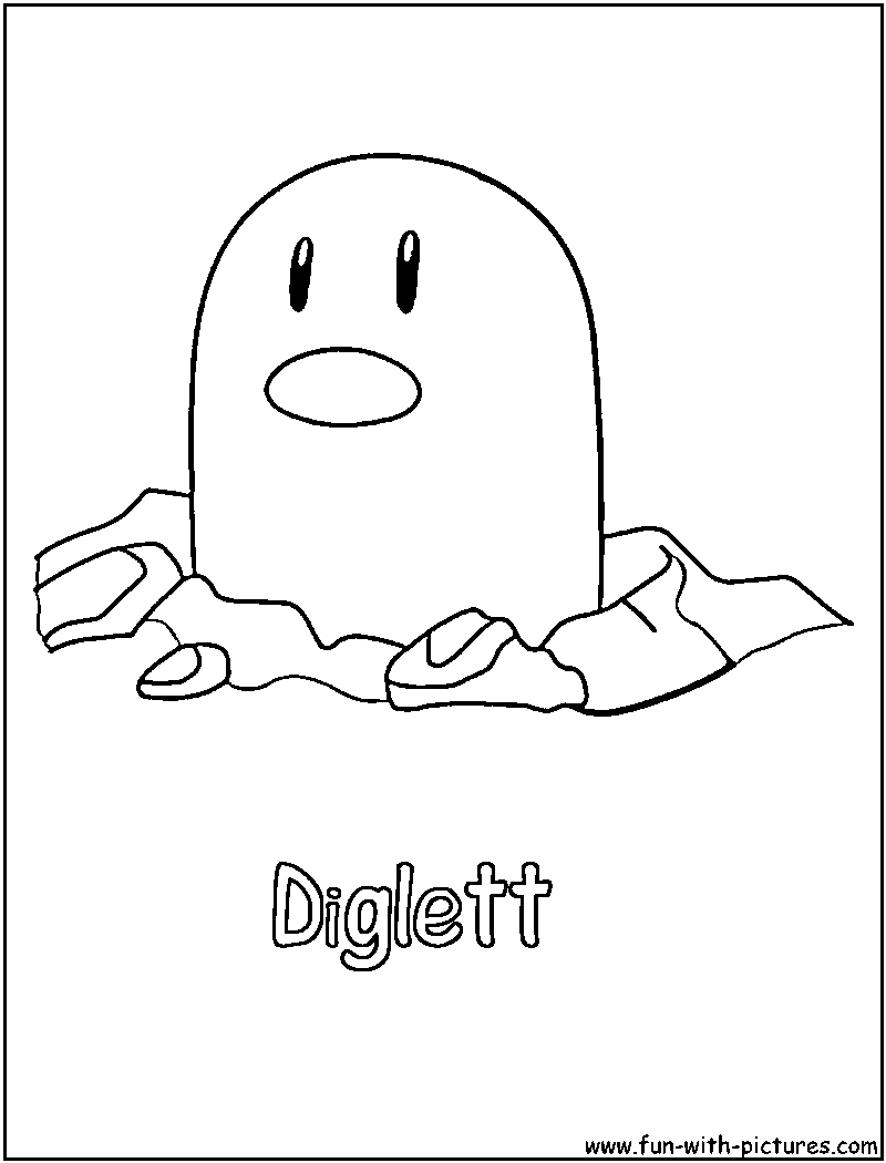 ground pokemon coloring pages - photo#28