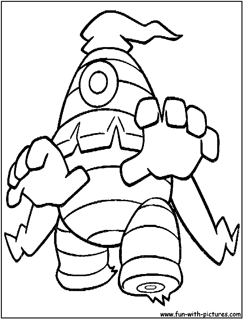 dusknoir pokemon coloring pages - photo#8