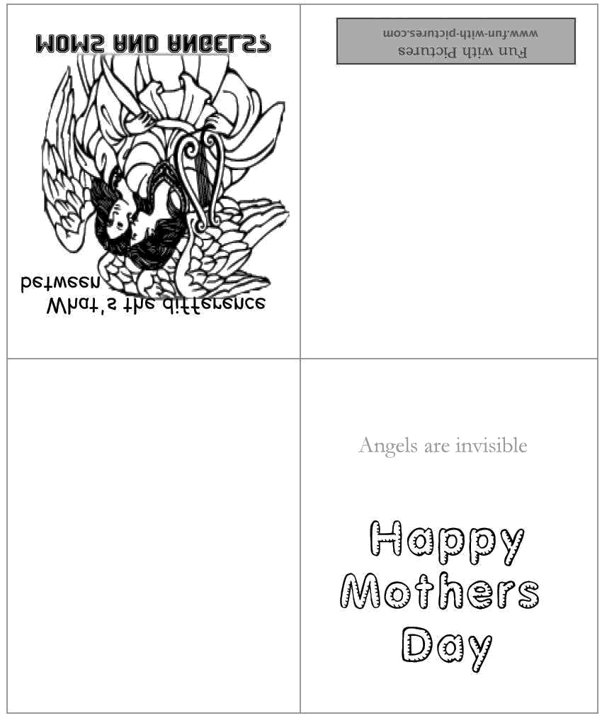 photo regarding Free Printable Funny Mothers Day Cards identify Moms Working day Card Coloring Website page