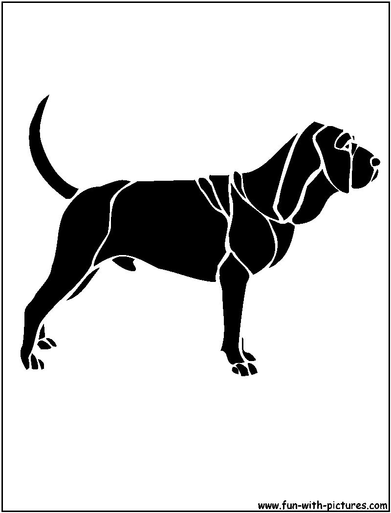 Dog Stencils Free Printables And Activities For Kids