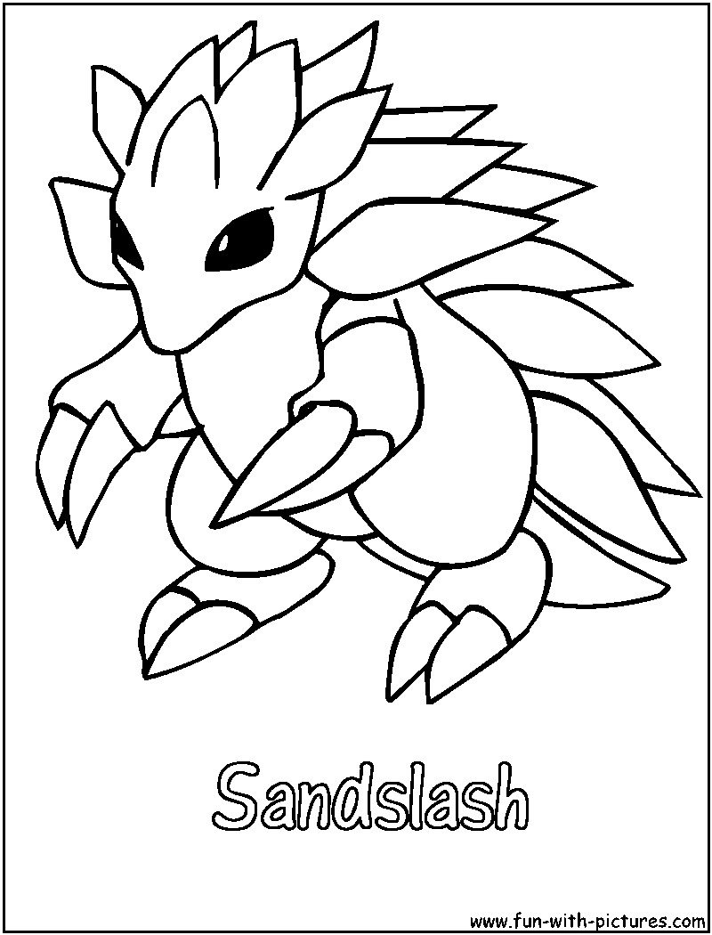 ground pokemon coloring pages - photo#10
