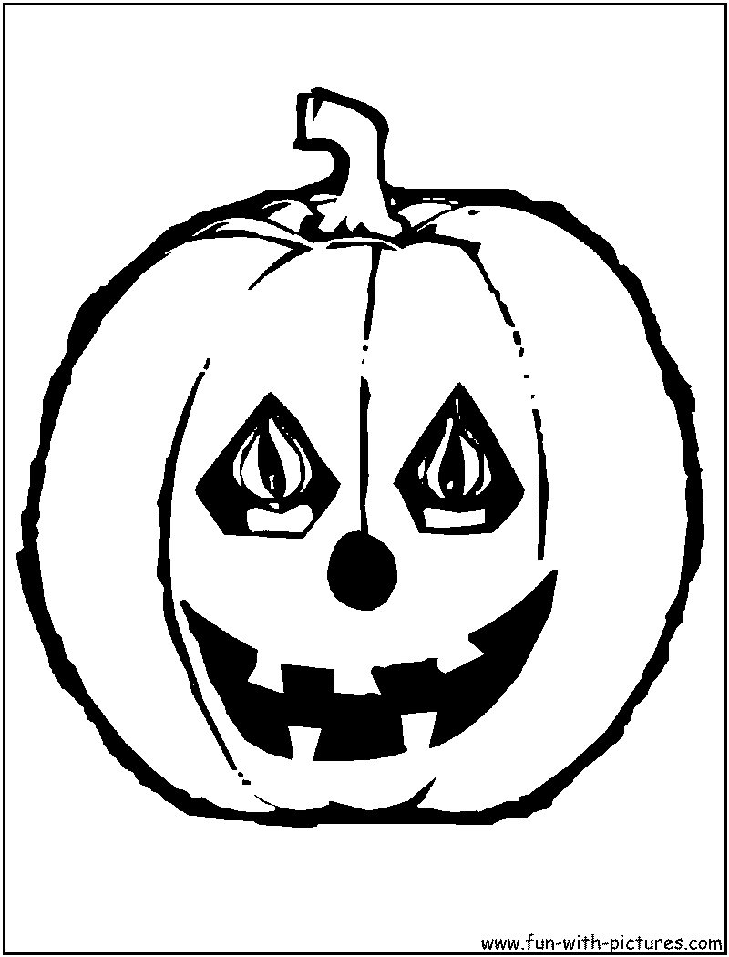 Pumpkin Coloring Pages - Free Printable Colouring Pages for kids to ...