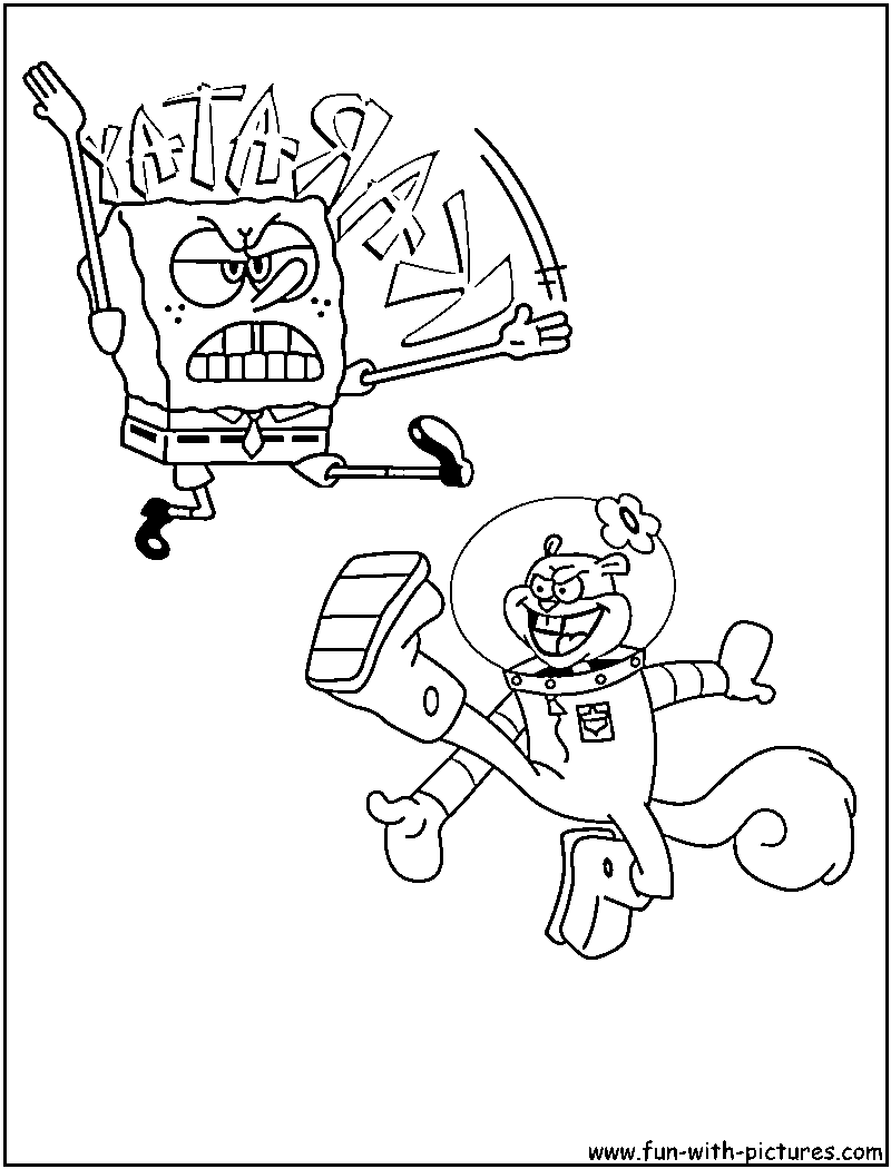 Spongebob Coloring Pages - Free Printable Colouring Pages for kids ...