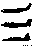 airplanes silhouette