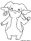 stantler pokemon coloring pages - photo#43