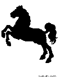 carousel horse silhouette