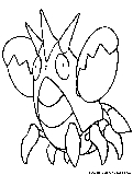 pokemon corphish coloring pages - photo#10