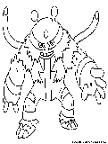 pokemon coloring pages electabuzz - photo#32