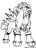 Fire Pokemon Coloring Pages Free