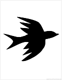swallow silhouette