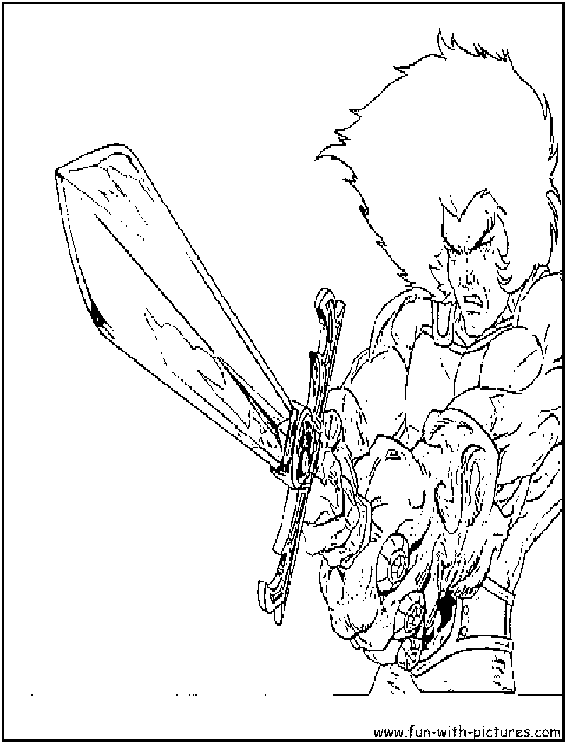 Thundercats Coloring Page